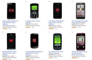 Amazon brings back 1 cent Verizon smartphone promotion