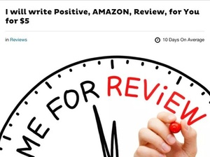 Amazon sues over 1000 Fiverr users who were offering to write fake product reviews