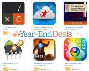 Gratis Android-apps ter waarde van $200 bij Amazon
