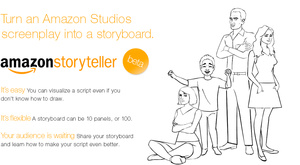 Amazon Storyteller creates storyboards automatically from your scripts