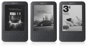 Amazon to sell ad-subsidized $114 Kindle reader