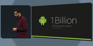Google I/O 2014: 1 billion active Android users per month
