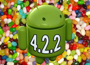 Google is gestart met de uitrol van Android 4.2.2