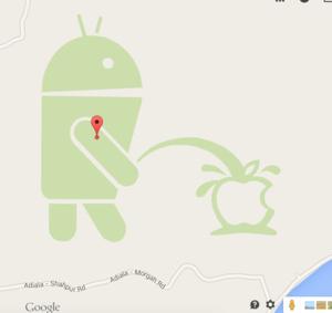 Google sulki karttojen muokkausominaisuuden ilkivallan vuoksi