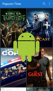 Nieuwe versie Popcorn Time voor Android