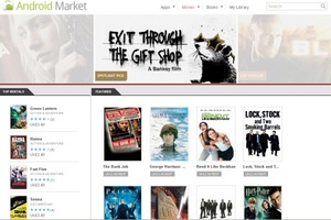 Android movie rental store goes live in UK