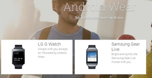 Google I/O 2014: First Android Wear watches available from Samsung, LG next month