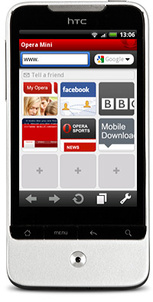 Stable Opera Mini 5.1 hits Android Market