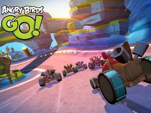 The next hit is here: Angry Birds Go available now for iOS and Android