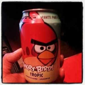 'Angry Birds' soda beats out Coke and Pepsi in Finland