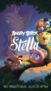 'Angry Birds Stella' is here