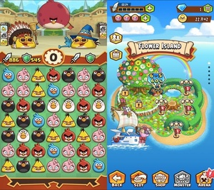 Rovio unveils 'Angry Birds Fight' puzzler hybrid