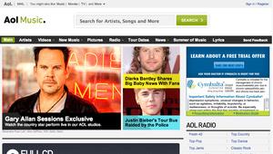 AOL Music shut down, all staff fired