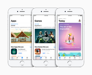 Apple revamps App Store with new layout and navigation
