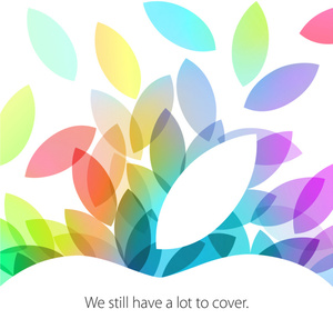 Apple makes iPad event official, set for October 22nd