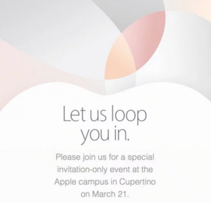 Apple sends invitations for March 21 event