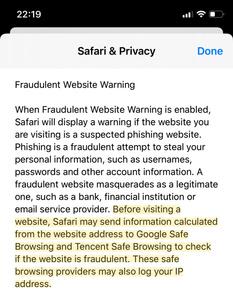 """Applen Safari jakaa """"turvallisen selaamisen"""" tietoja kiinalaiselle Tencentille"""