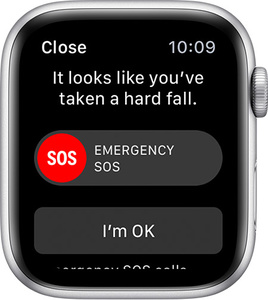 Apple Watch alerts authorities when 80 year old takes fall