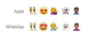 WhatsApp rips off iPhone emojis to create their own set
