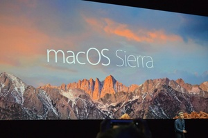 WWDC: As expected, Apple renames OS X to macOS