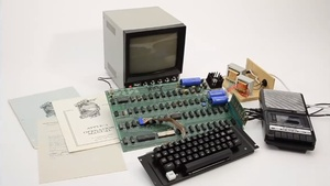 Apple I computer sells for $668,000