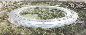 Applen uusi futuristinen päätoimisto kuin avaruusalus