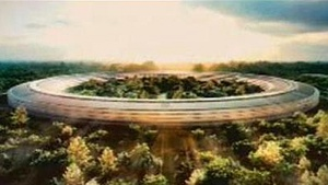 Cupertino mayor shows love for new Apple 'Spaceship' building