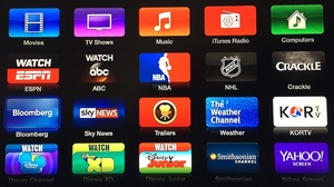 Apple TV gets new channels for Bloomberg, Crackle, more