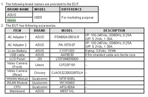 FCC listing outs second-generation Google Nexus 7 tablet