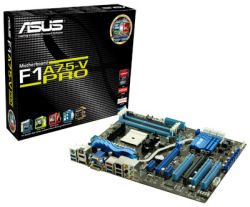 ASUS launches AMD A75 chipset-based motherboards