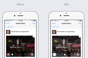 Facebook is 'auto-enhancing' your uploaded photos on iOS