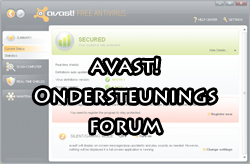 Nederlands supportforum voor avast!