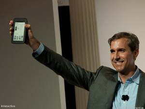 Barnes & Noble unveils new Nook with e-ink touchscreen