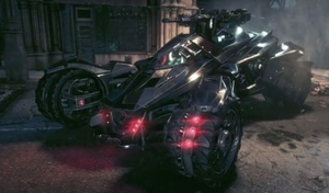 VIDEO: Batman: Arkham Knight Batmobile transforms in Battle Mode