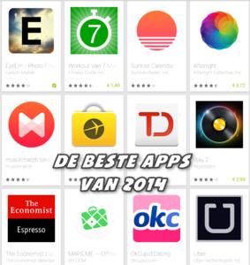 De beste apps van 2014 volgens Google