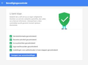 Google biedt 2GB extra opslagruimte voor een beveiligingscontrole op je Google-account