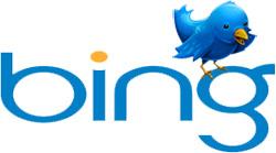 Bing en Twitter blijven samenwerken