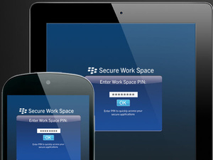 BlackBerry launches Secure Work Space for iOS and Android