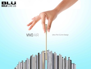 Blu is back with the crazy thin $199 Vivo Air smartphone