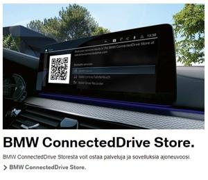Uusi BMW ehdottaa kuskille kaukovalojen avustuksen sovelluksen ostamista kesken ajon