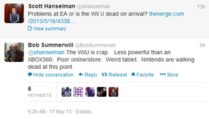 EA Sports developer: Nintendo needs to quit making hardware, the Wii U is 'crap'