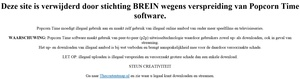 Anti-piracy group BREIN takes down Popcorn Time fan pages that didn't even host software