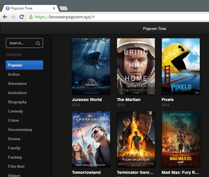 MPAA shuts down web version of Popcorn Time but site moves to new domain