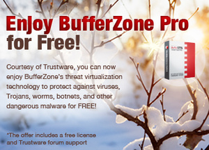 BufferZone Pro nu Freeware