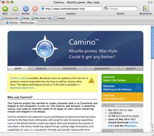 R.I.P Camino browser