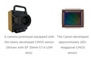 Canon kertoi tulevien kameroiden ällistyttävästä sensorista