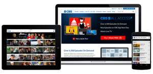 CBS All Access now provides live TV feeds to 60 percent of Americans
