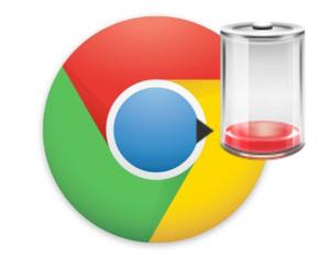 Chrome trekt je accu leeg