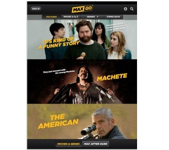 Want porn on the iPad? Use the Cinemax app of course
