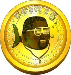 Kanye West haastoi kryptovaluutan oikeuteen, syy logossa?